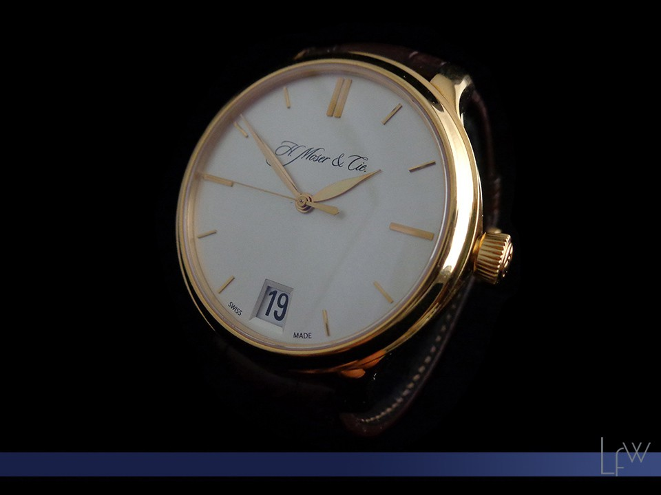 H.Moser Big date rose gold